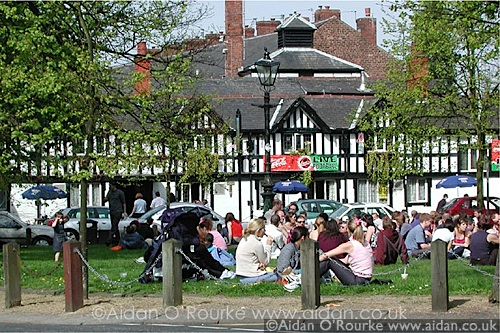 "Chorlton Green hold their 4th ""GREEN"" Festival this year.  This was the scene in 2013 ... Will the next image be the scene for 2014"