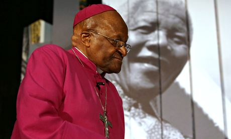 Desmond Tutu: 'We have allowed the interests of capital to outweigh the interests of human beings and our Earth.' Photograph: -/AFP/Getty Images