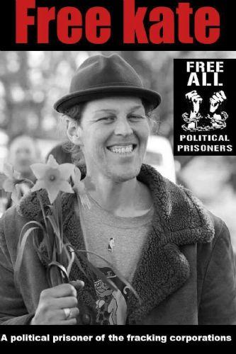 Kate McCann - Frackings First Political Prisoner